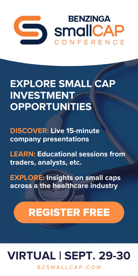September 2021 Healthcare Small Cap Conference - 600x300
