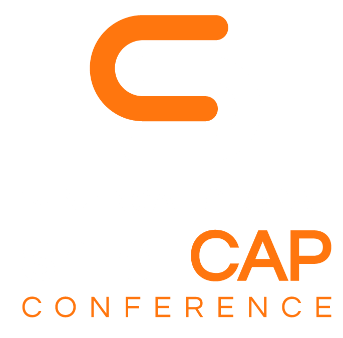 Benzinga Global Small Cap Conference 2020 Vertical Logo - Orange White