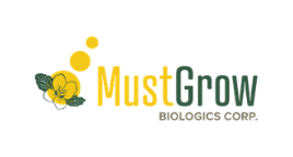 MustGrow Biologics Logo - biomedical stocks