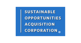 Sustainable Opportunities Acquisition Corp Logo - small cap