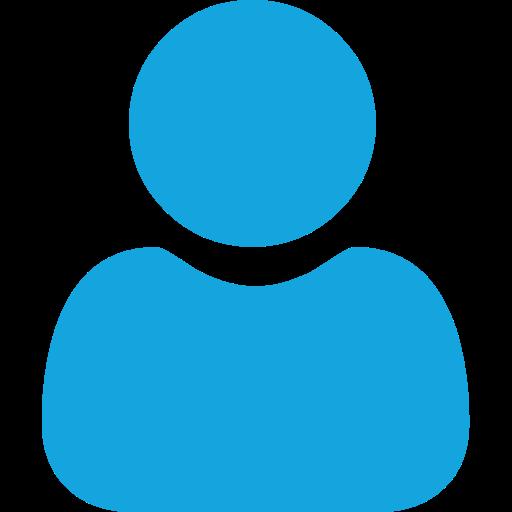 blue user icon - small cap conference