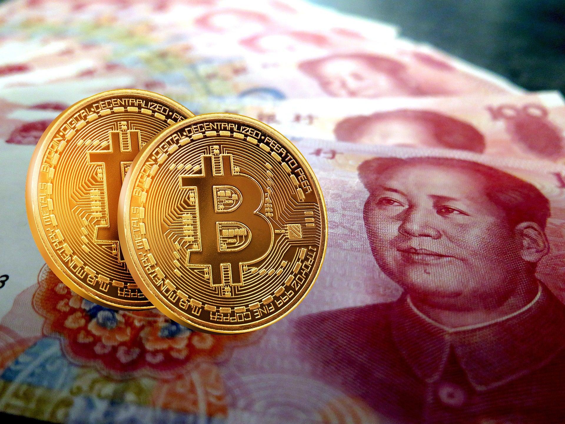 china trading bitcoin)
