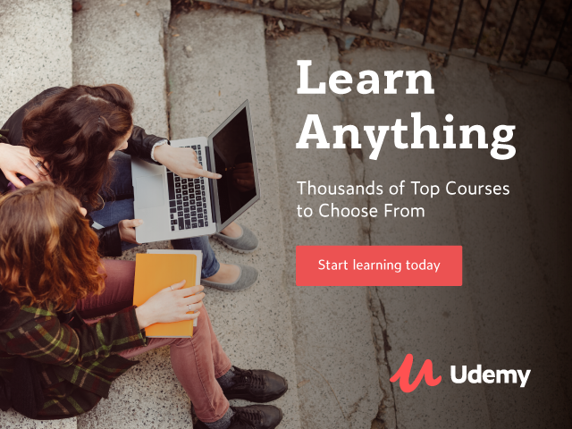 Explore all your possibilities. Udemy online courses on sale from $11.99
